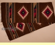 "Hand Woven Zapotec Table Runner 15""x80"" (a65)"