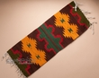 "Hand Woven Zapotec Table Runner 15""x40"" (b46)"