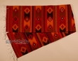 "Hand Woven Zapotec Table Runner 15""x80"" (b31)"