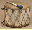 Ray Gallegos Native Aspen Drum 13.5x9.5 (pd12)