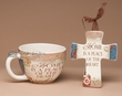 Inspirational Cup & Cross Gift Set -Home