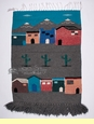 Southwest Woven Wall Hanging 30x44  (t15)