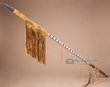 "Beaded Old Style Navajo Indian Spear 59""  (L15)"