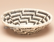 "Southwest Handwoven Palm Basket 8"" (p5)"