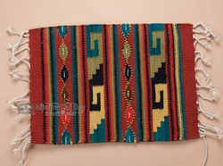 Southwestern Zapotec Placemats 100 Wool Zapotec Rugs