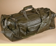 "Handcrafted Leather Travel Bag 22"" -Avacado  (db16)"