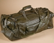 "Handcrafted Leather Travel Bag 23"" -Avacado  (db16)"