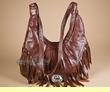 Southwestern Concho Purse Purse -Brown  (sp8)
