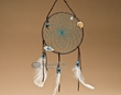 "Native American Dream Catcher 6"" -Turquoise  (6-41)"