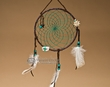 "Native American Dream Catcher 6"" -Green  (6-43)"
