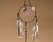 "Native American Dream Catcher 4"" -Purple  (6-46)"