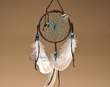 "Native American Dream Catcher 4"" -Turquoise  (6-47)"