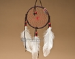 "Native American Dream Catcher 4"" -Red  (6-49)"