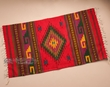 "Zapotec Indian Throw Rug 23""x39"" (23)"