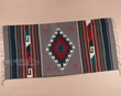 "Hand Woven Zapotec Indian Rug 30""x60"" (28)"