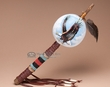 "Native American Gourd Rattle 16"" -Eagle  (159)"