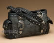 Designer Western Purse -Black  (p409)