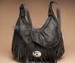 Southwestern Leather Purse -Dark Brown  (52)
