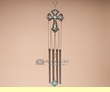 "Designer Western Wind Chime 22"" -Cross"