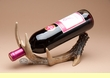 Single Faux Deer Antler Wine Rack  (ar5)