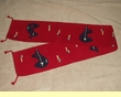 "Southwest Red Table Runners -Bear 10""x80"" (108026)"