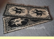 "Cotton Western Table Runner 13"" x 72"" -Running Horses"