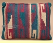 Zapotec Indian Hand Woven Western Pillow 12x16 (a)