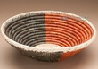 "Native American Style Saucer Basket 9.5"" (a53)"