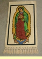 Small Guadalupe Wall Hanging  14x28