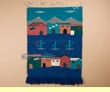 Southwest Hand Woven Wall Hanging 30x44  (6)