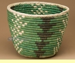 "Pueblo Indian Style Planter Basket 11x8.5"" (a38)"