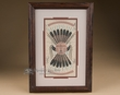 "Navajo Sand Painting Framed Art 10""x14""  (sp21)"