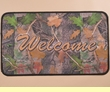 "Southwestern Door Mat 18""x30"" -Leaves  (dm17)"