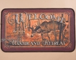 "Southwestern Door Mat 18""x30"" -Deer  (dm19)"