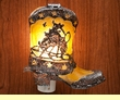 Western Night Light -Cowboy Boot  (5a)