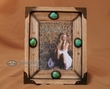 Southwestern Style Rustic Picture Frame 5x7  (8-1104)