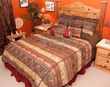 7 Pc.Southwest Comforter Set -Del Sierra Super King