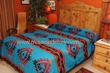 Southwestern Bedspreads -Tesuque Pattern QUEEN
