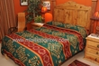Native American Style Bed Spread -Acoma Pattern Queen
