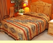 Southwest Decor Bedspread -Isleta QUEEN