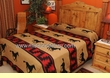 Rustic Ranch Style Bed Spread -Zia Horses KING