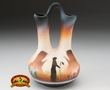 "Native American Navajo Wedding Vase 5"" -Monuments  (v205)"