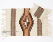 "Handwoven Western Placemat & Coaster Set 13""x19"" (wpm5)"