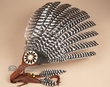 "Native American Navajo Indian Smudging Fan 19""  (f21)"