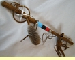 "Native America Tigua Medicine Stick  24""  (6c)"