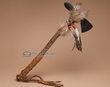 "Antiqued Native American Tomahawk 16"" -Navajo  (16)"