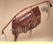 Hand Beaded Native Pueblo Indian Bow & Arrow  (16)