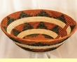 "Pueblo Indian Style Basket 19.5"" (a28)"