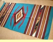 Zapotec Indian Style Southwestern Floor Rug 32x64 (64112)