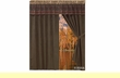 "Designer Curtain Set 60""x84"" +18"" -Del Sierra 5 pc."